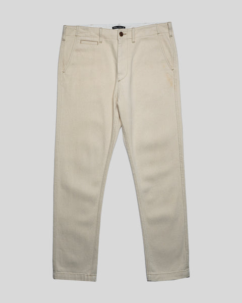 raw denim trousers product front