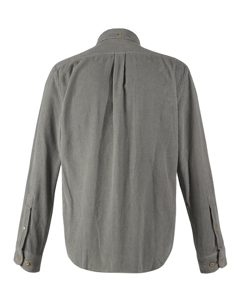 corduroy shirt grey product back