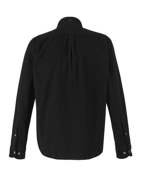 corduroy shirt black product back