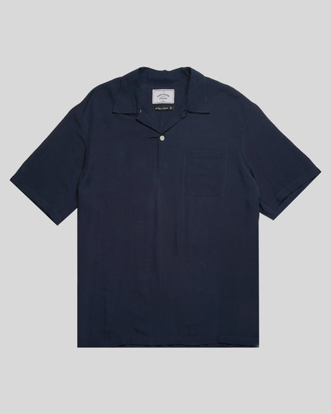 navy polo product front