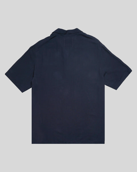 navy polo product back