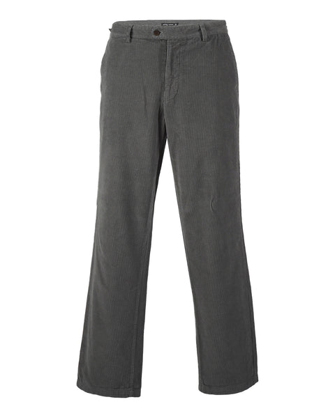 trousers corduroy grey product front