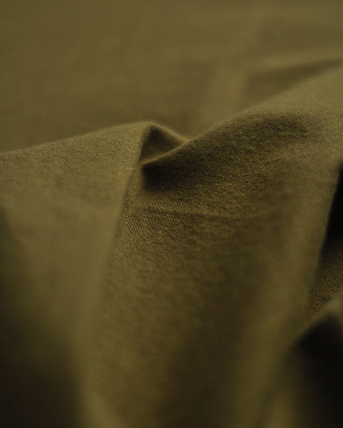 long sleeve shirt olive detail fabric