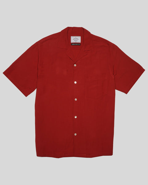 red short sleeve shirt product front