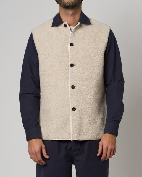 SHERPA OVERSHIRT - BLUE
