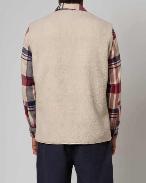 SHERPA CHECK OVERSHIRT