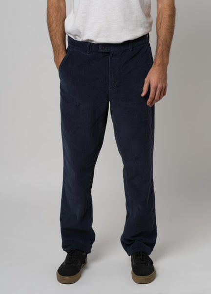 CORDUROY TROUSERS - BLUE