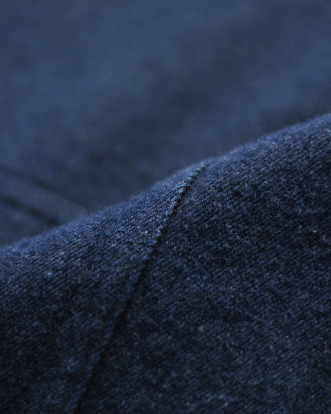 brushed denim jacket detail fabric