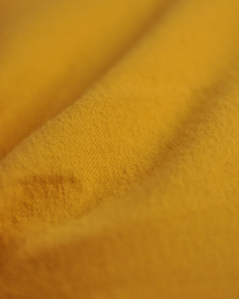 flannel shirt mustard detail fabric