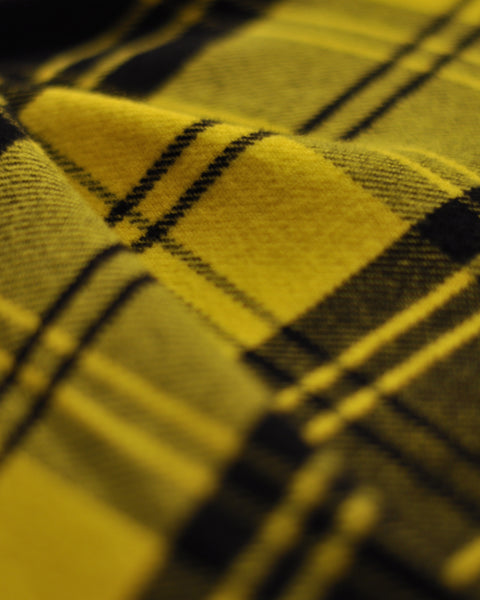 vila yellow shirt detail fabric