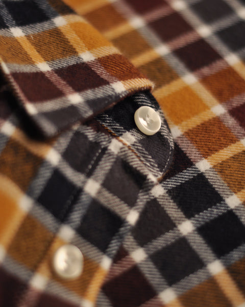 autumn shades shirt detail button