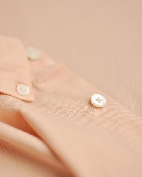 Shirt Old Rose detail button