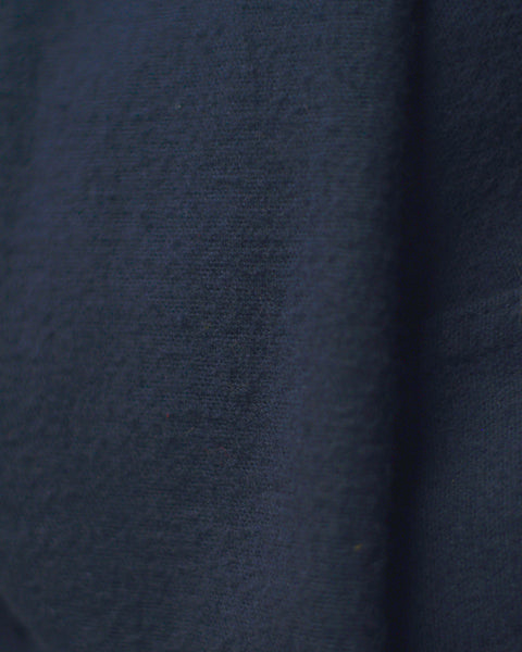flannel jacket blue detail fabric