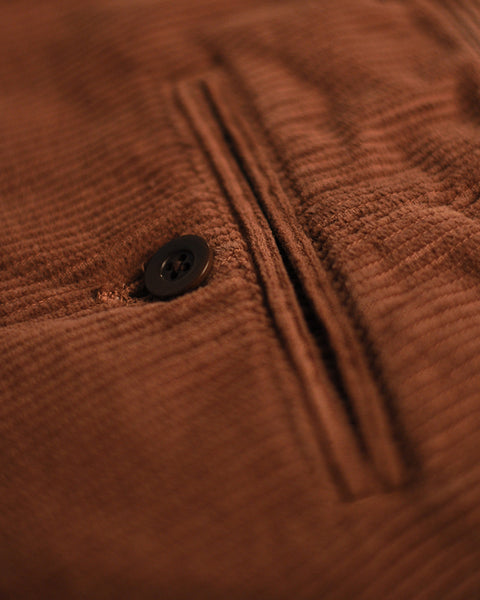TROUSERS CORDUROY - BROWN