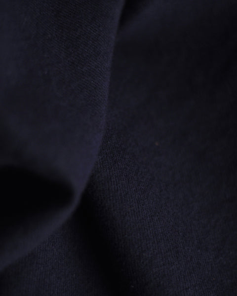 flannel shirt navy blue detail fabric