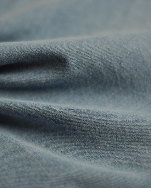 denim shirt blue detail fabric