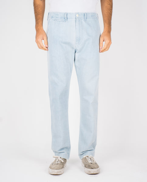 DENIM TROUSERS - LIGHT BLUE