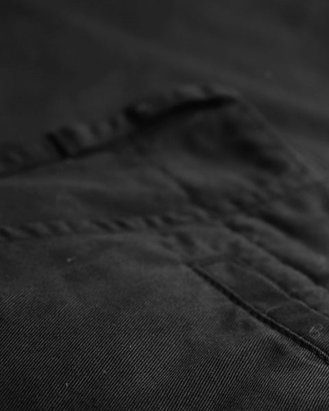 black trousers detail pocket
