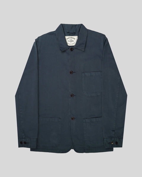 navy jacket  product front