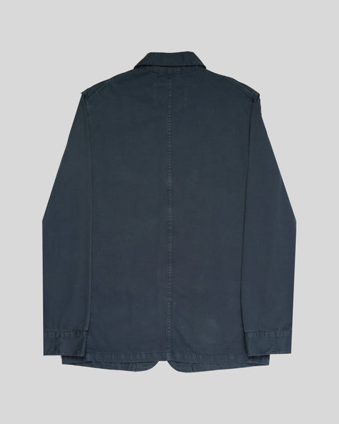 navy jacket product back