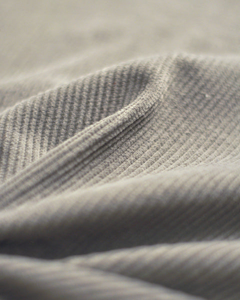 corduroy shirt grey detail fabric