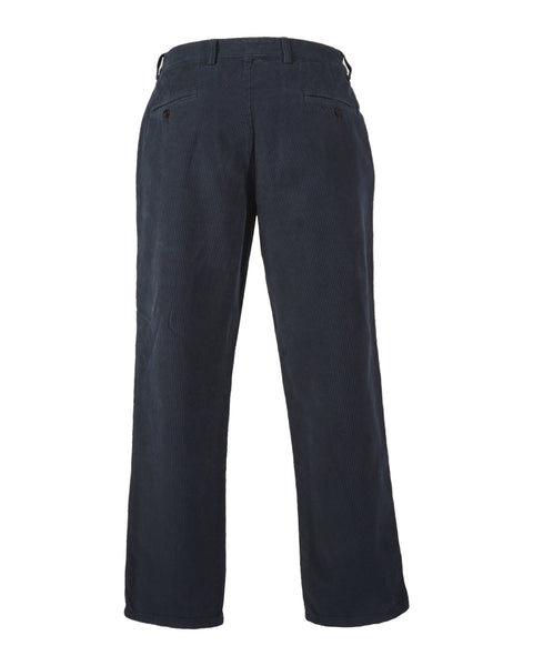 corduroy trousers navy product back