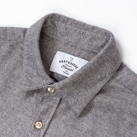 Teca Light Grey - (Flannel)
