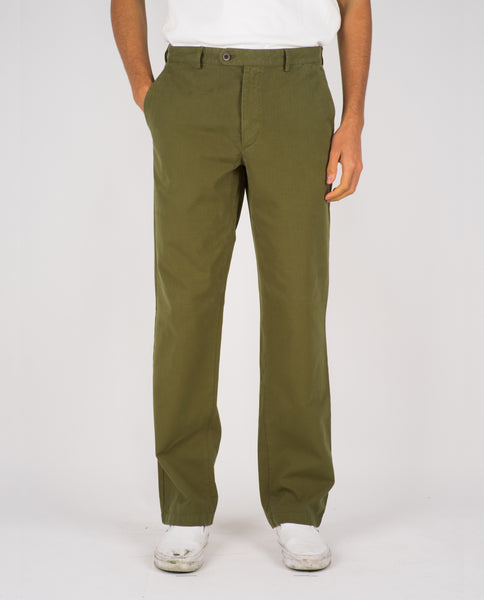 RIPSTOP TROUSERS - MILITARY OLIVE