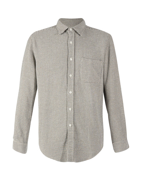long sleeve shirt tricot grey product front