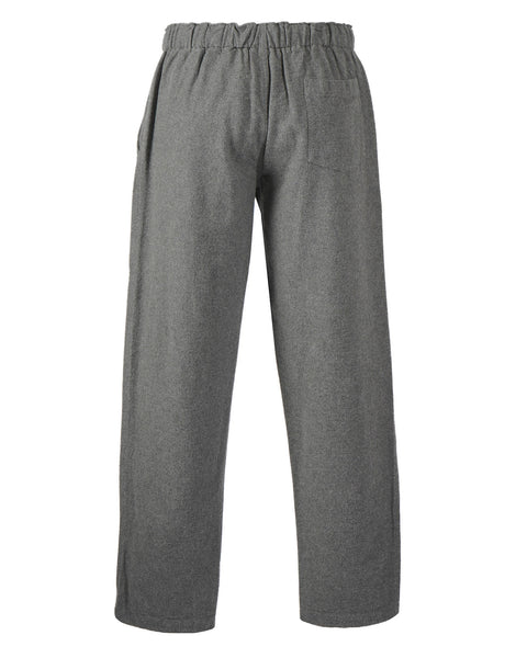 flannel trousers grey product back