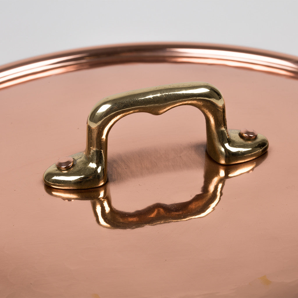 Eligo - Rounded pan, 1 handle  (Copper) - 4