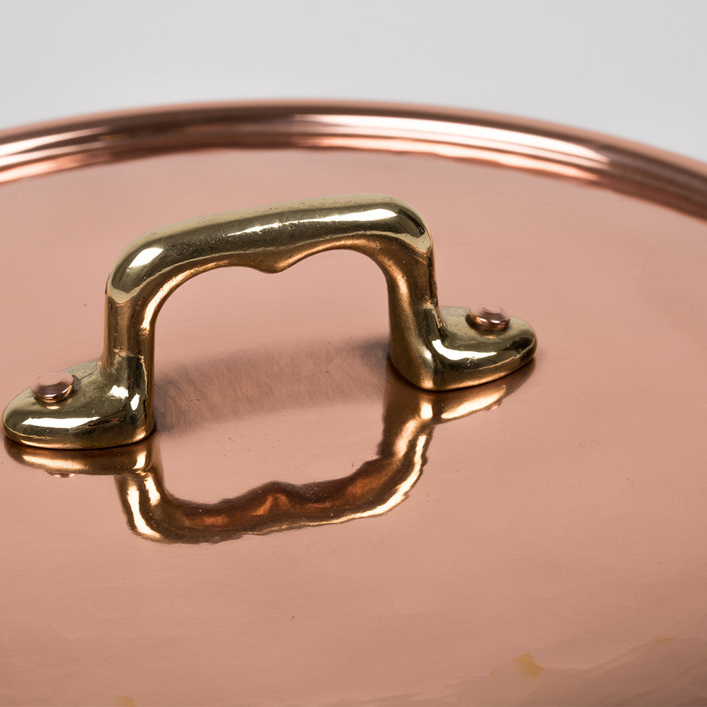 Eligo - Rounded pan, 2 handles  (Copper) - 5