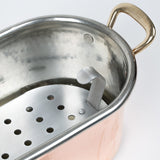 Eligo - Fish kettle with grill  (Copper) - 4