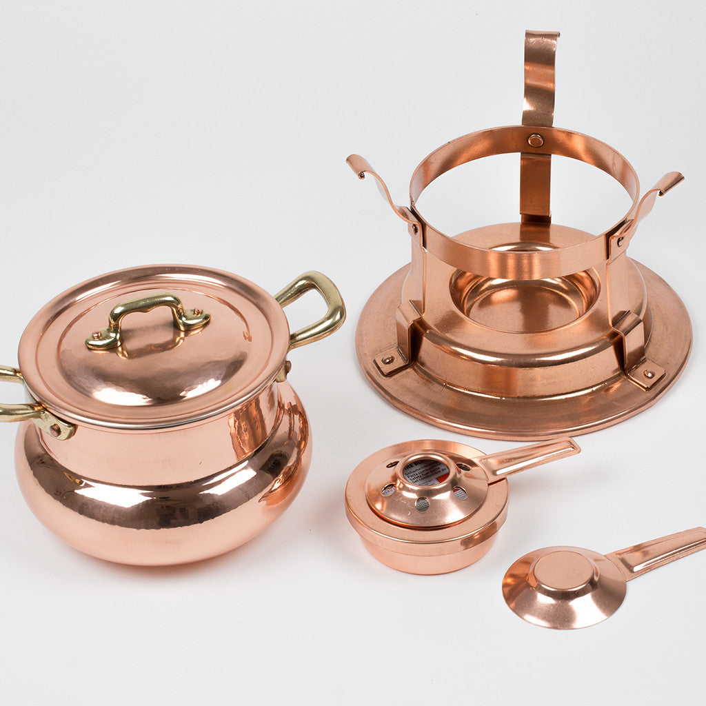 Eligo - Fondue set  (Copper) - 4