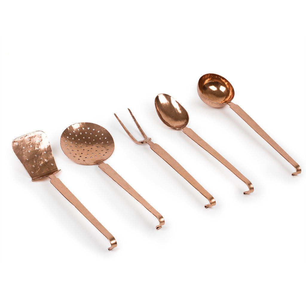Eligo - Ladle set, 5 pieces  (Copper) - 1