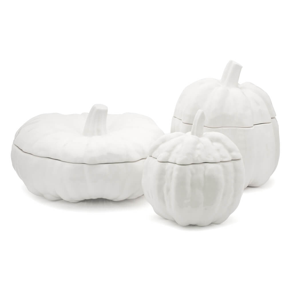 Eligo - Pumpkin soup tureen M  (Ceramics) - 2