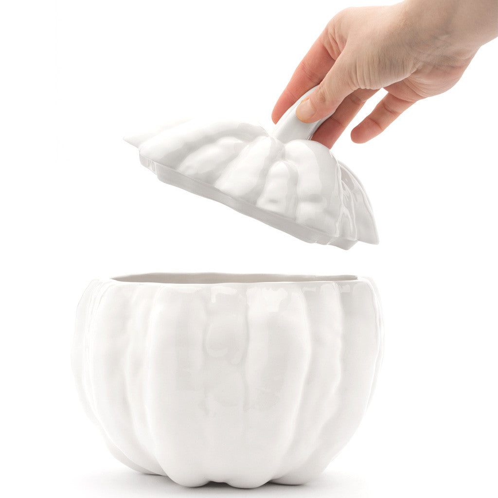 Eligo - Pumpkin soup tureen M  (Ceramics) - 3