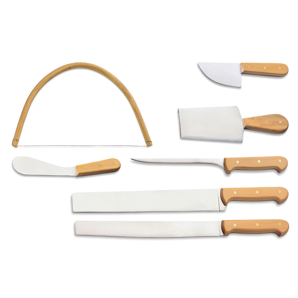 Eligo - Italiani (Cheeses set) Boxwood (Full tang) (Knives) - 1