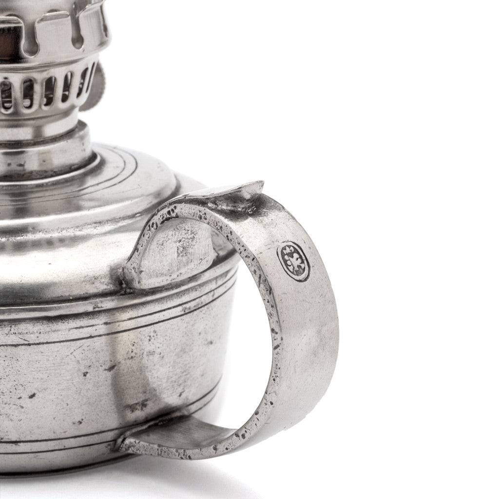 Eligo - Oil Lamp  (Pewter) - 2