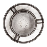 Eligo - Round Ashtray  (Pewter) - 2