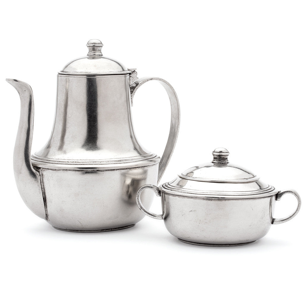 Eligo - Coffee Pot  (Pewter) - 3