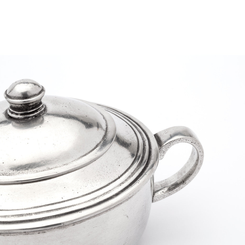 Eligo - Sugar Pot  (Pewter) - 2