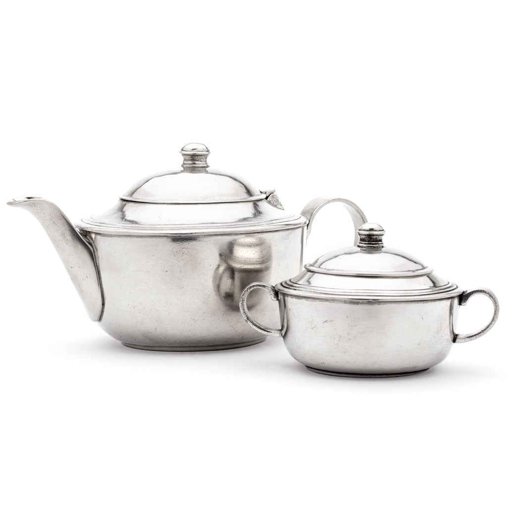 Eligo - Tea Pot  (Pewter) - 4