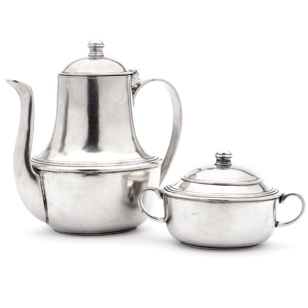 Eligo - Sugar Pot  (Pewter) - 4