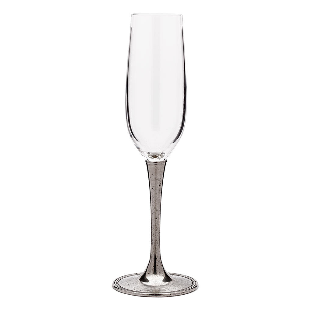Eligo - Champagne Glass  (Pewter)