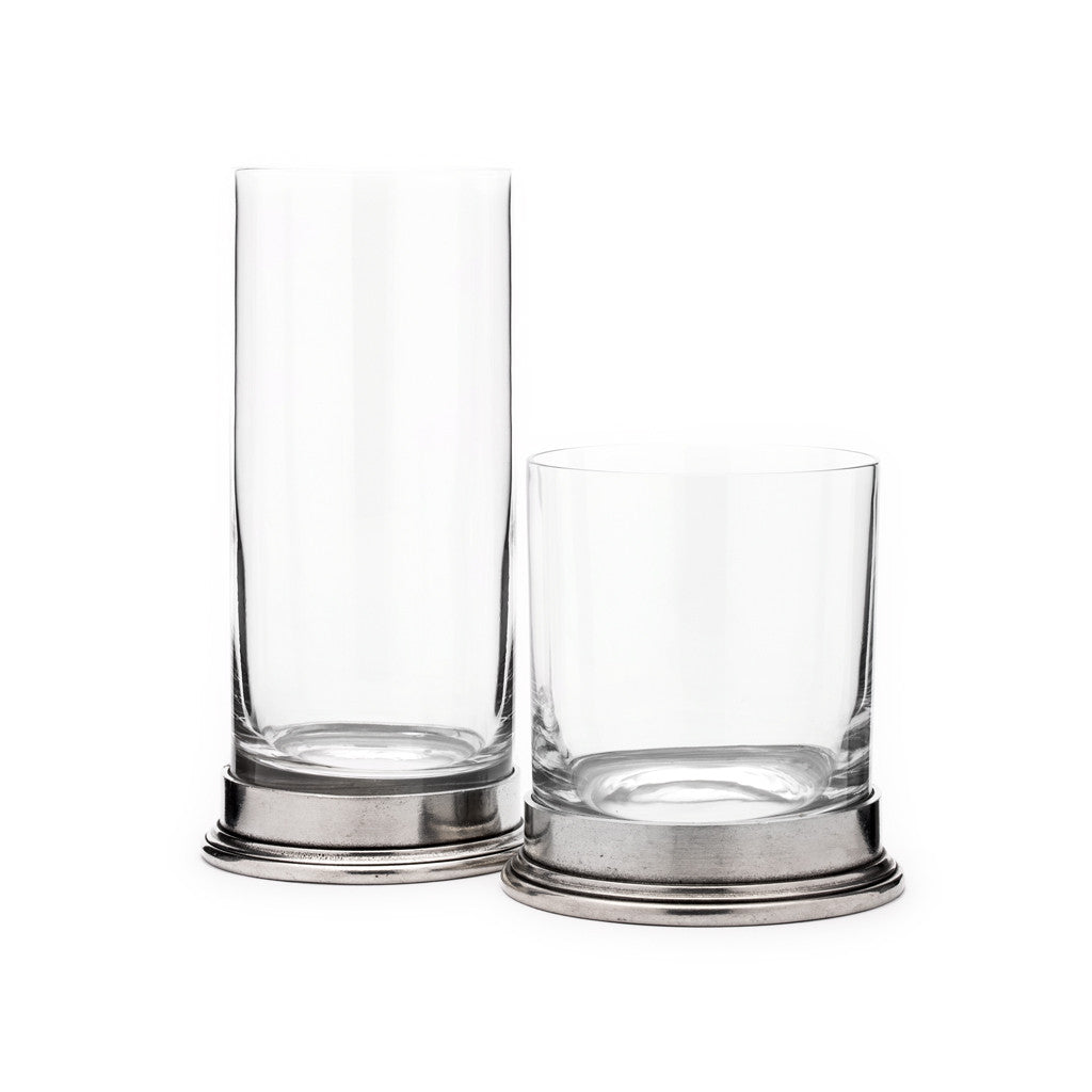 Eligo - High Ball Glass  (Pewter) - 2