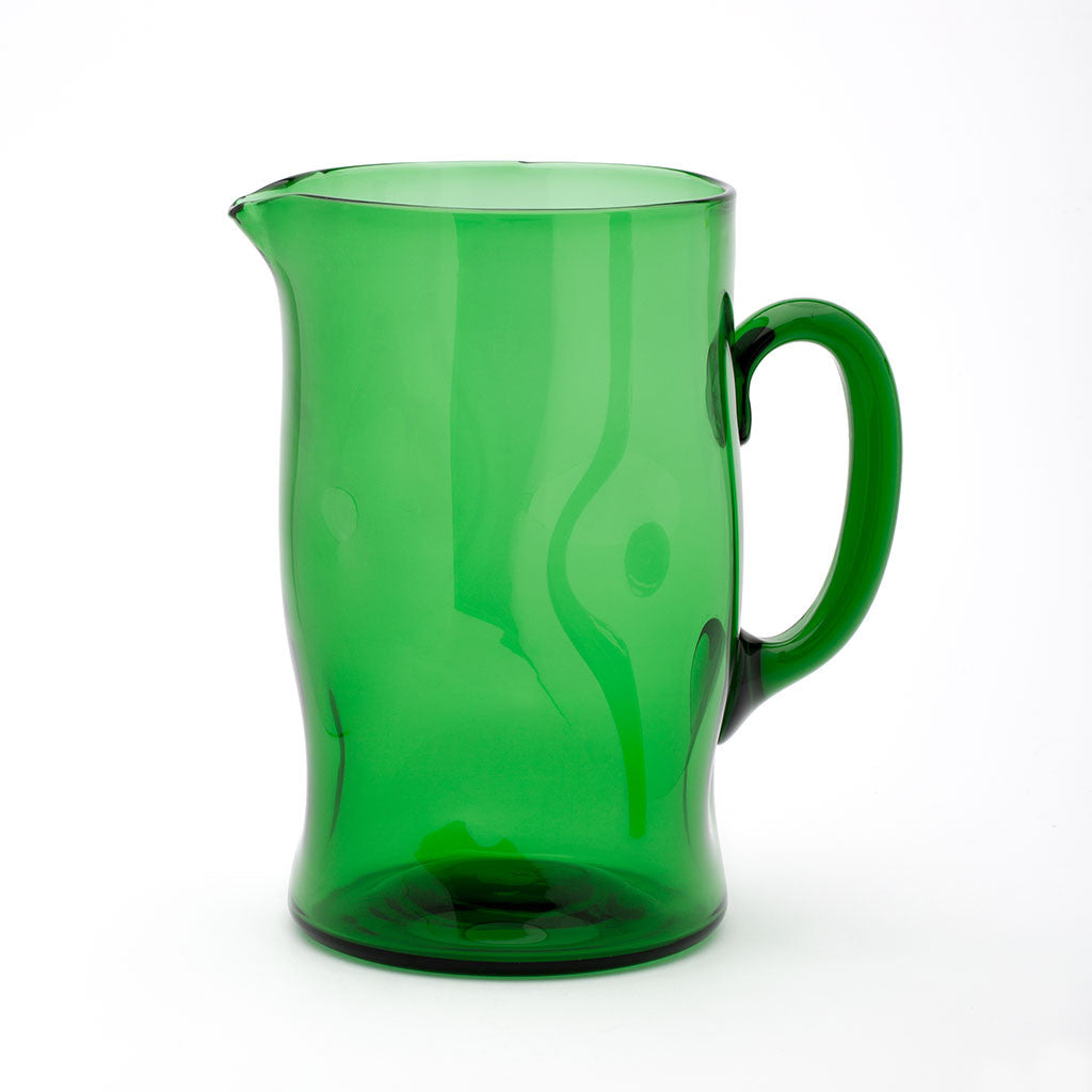 Eligo - Bugnato Jug Green  (Glasses) - 1