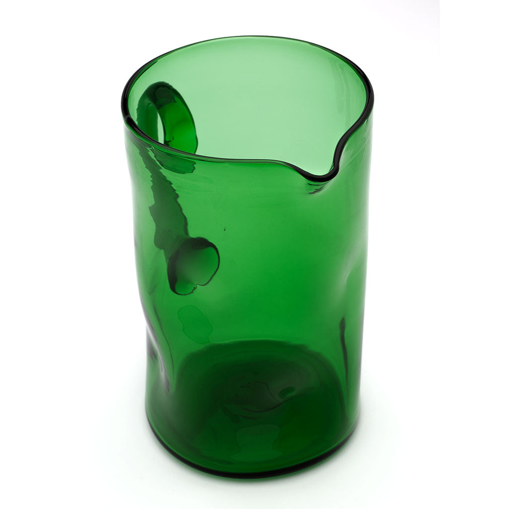 Eligo - Bugnato Jug Green  (Glasses) - 6