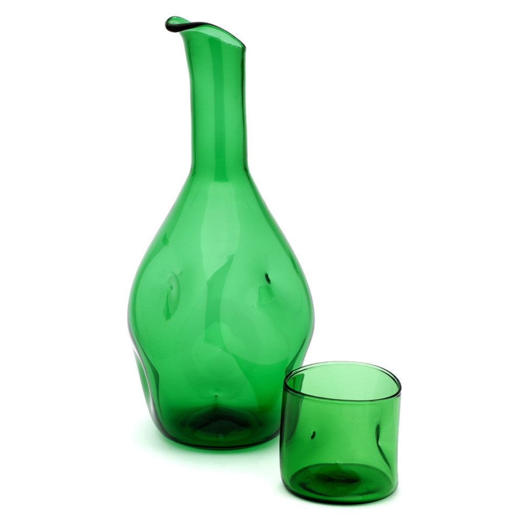 Eligo - Bugnato Bottle Green  (Glasses) - 4