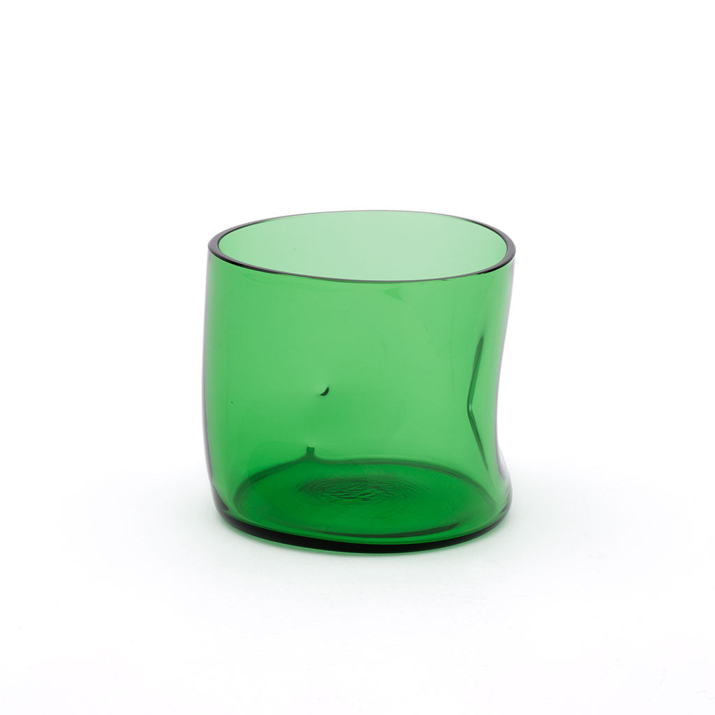 Eligo - Bugnato Low Glass Green  (Glasses) - 1